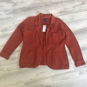 NWT AUDREY AND GRACE SWEATER JACKET SIZE L